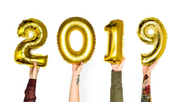 Happy New Year 2019 (& My Vague New Year'sResolutions...)