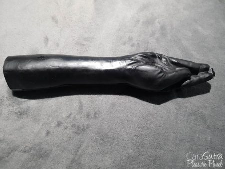 All Black Hand Job Life Size Fisting Dildo Review