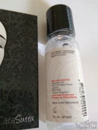 Spurt Premium Silicone Lubricant 20ml Review