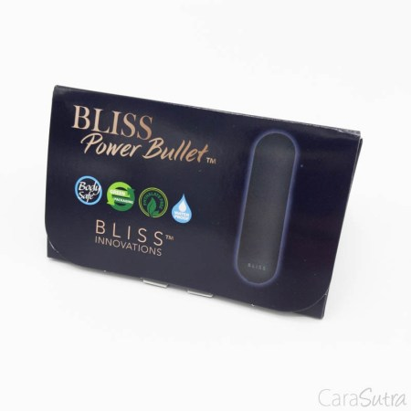 Bliss Power Bullet Rechargeable 10 Mode Mini Vibrator Review