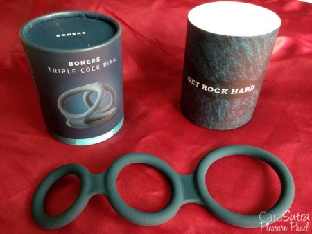 Boners Liquid Silicone Multiway Triple Cock Ring Review