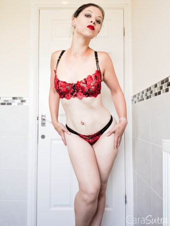 Ann Summers Cecile Non-Padded Bra And Thong Review