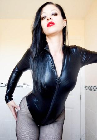 LovehoneyFierce Wet Look Long Sleeve Zip-Around Body Review