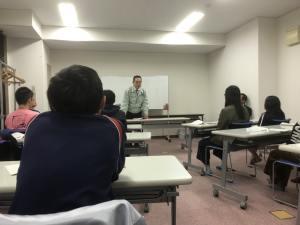 製造業の原田社長の講義