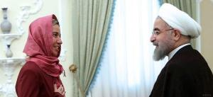 Mogherini visits Tehran