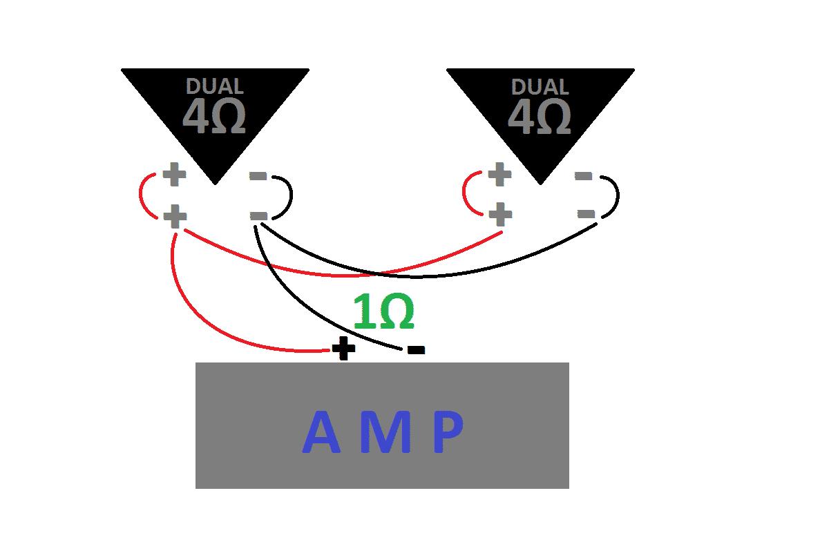 Single dvc 4 ohm wiring Single 2 Ohm Dvc Wiring Diagram -