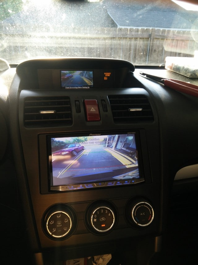 How to Wire Factory Backup Camera Image on Aftermarket Radio Screen