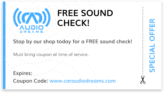 Audio Dreams Coupons Special Offer 9