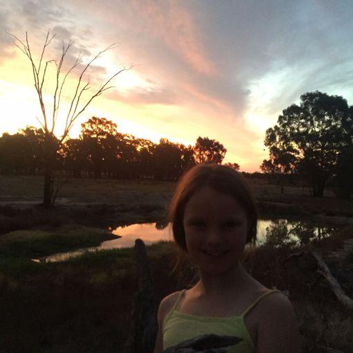 Sunset over Little