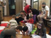 Ecologia pe intelesul copiilor, atelier Muzeul Hartilor (03)