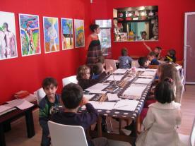 ateliere copii Peripetiile lui Ulise Anaid Art Gallery (1)