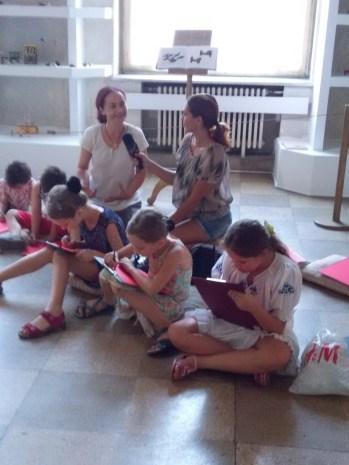 ateliere copii Caravana Muzeelor Muzeul National al Taranului Roman