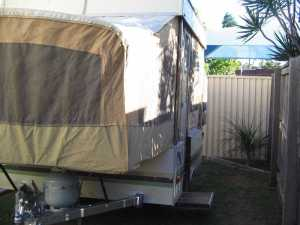 Coleman camper trailer