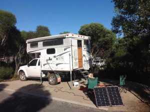 2012 palamino slide-on camper