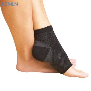 Elastic Men ECMLN Comfortable Foot Sleeve Men's Socks Anti Fatigue Women Circulation Ankle Socks 2017 Hot