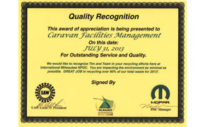 Quality Recognition from Mopar