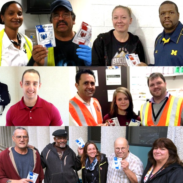 October 2015 Safety Incentive Program Winners