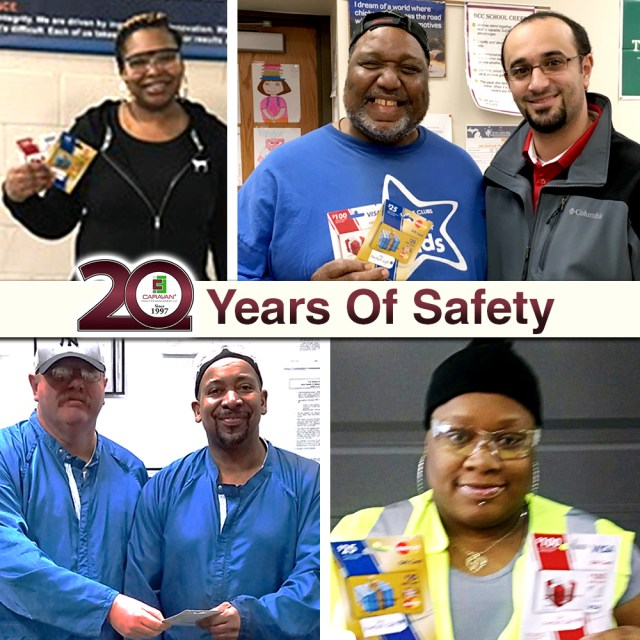 CaravanFM Safety Incentive Program Winners - Feb 2017