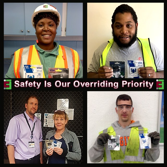 Caravan Facilities Management - Safety Incentive Program Winners - May 2017