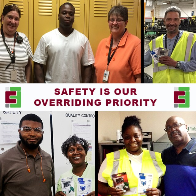 June 2017 Safety winners