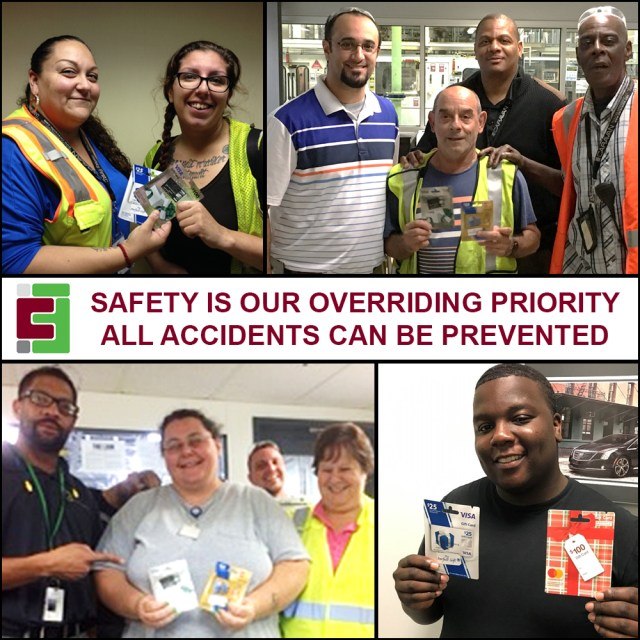 September 2017 Caravan Facilities Management Safety Incentive Program Winners