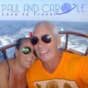 Paul and Carole Love Travel
