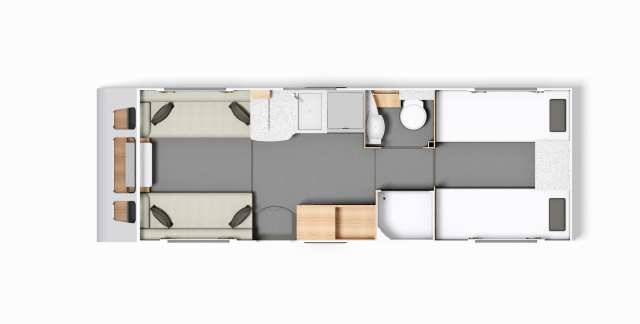 Buccaneer Clipper - FloorPlan