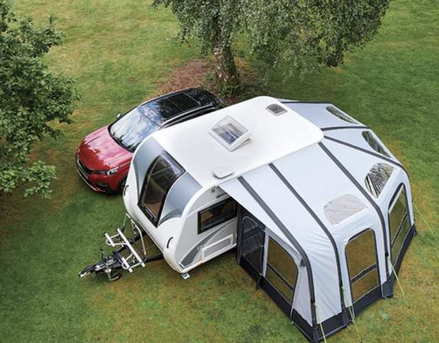 Exclusive PRIMA wrap-around Air Awning