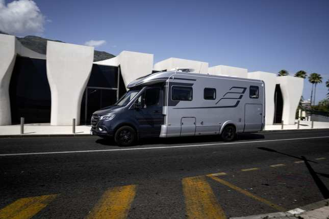 The Hymer B-Class MasterLine T 780