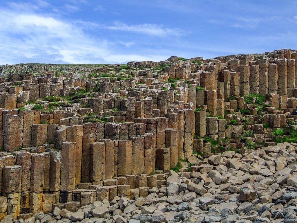 UK's Seven Natural Wonders. Giant's Causeway, Northern Ireland
