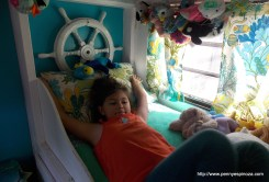 First Mate aboard Her Ship's Bunk