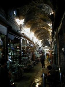 Copper market in Urfa (Turkey)