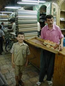 Vendors in the suq