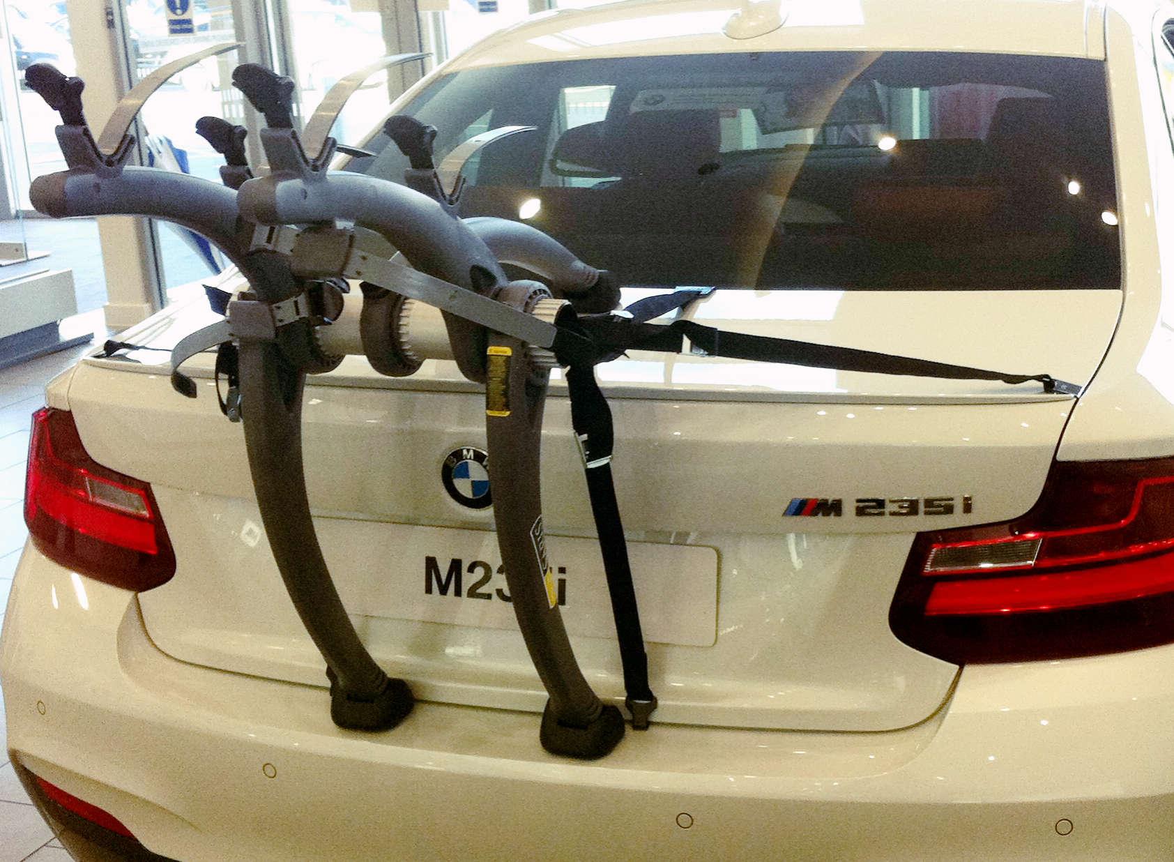 Bmw 2 Series Bike Rack For Coupe Modern Arc Based Design