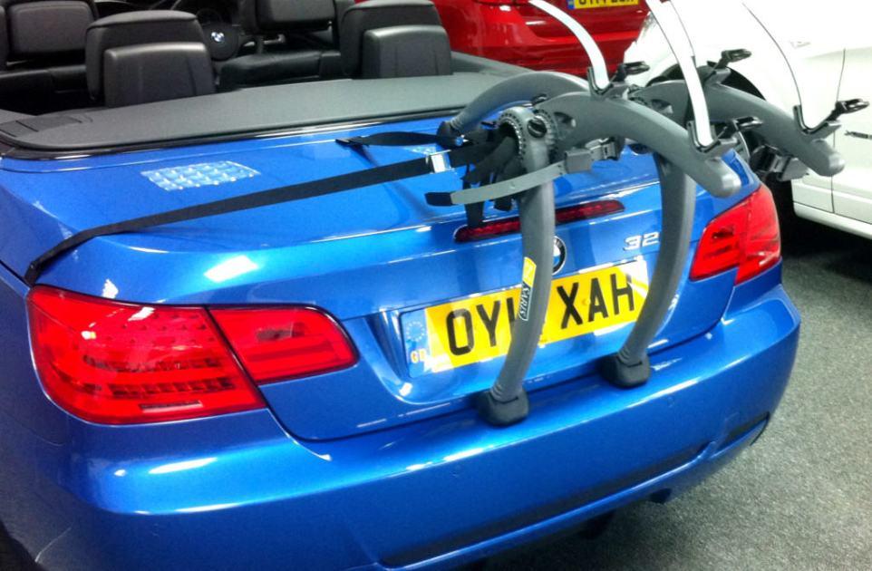 BMW 3 Series Convertible Bike Rack