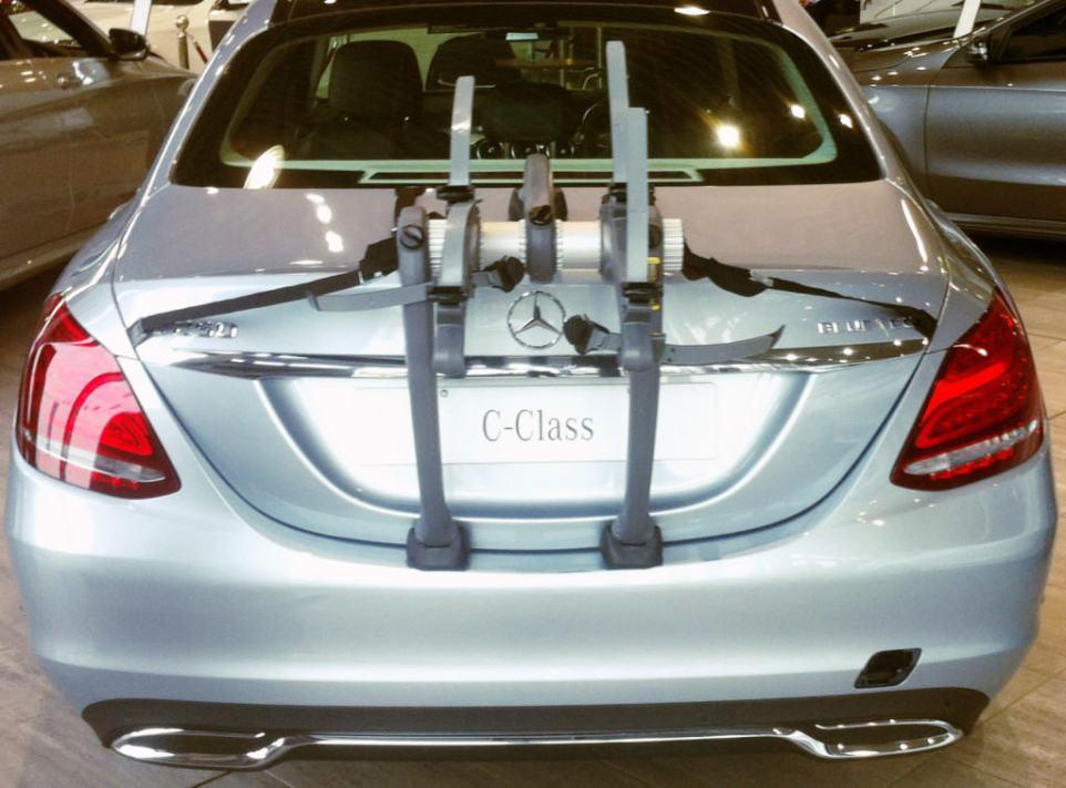 Mercedes C class bike rack