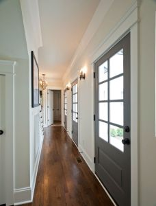 Corridor and entrance