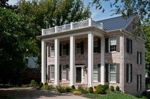 Carbine & Associate, house, entrance and terrace