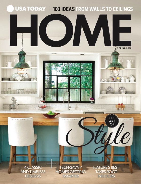 Now on newsstands nationwide, USA Today Home Magazine writer Hollie Deese asked Carbine's Daryl Walny about the trend in quartz-based counters