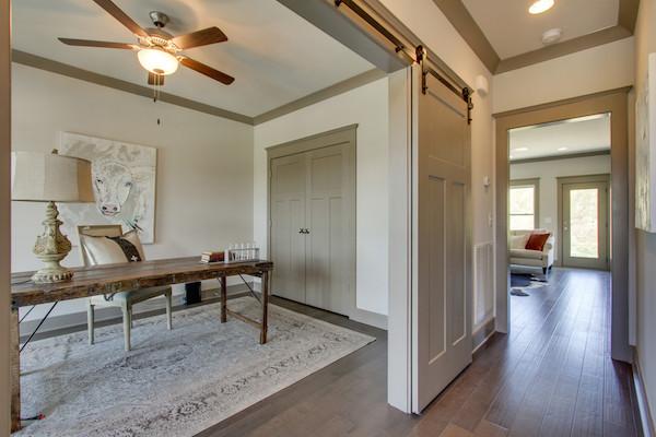 Sliding Barn Door, Tollgate Village in Thompsons Station, TN,, Carbine & Associates
