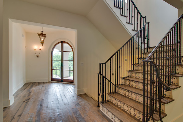 Italian Tile Risers, Contemporary Tuscan Home, Carbine & Associates, Franklin, TN