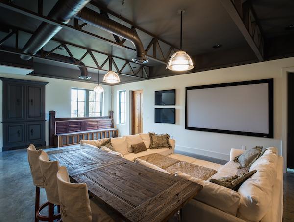 The Perfect Media Room, Carbine & Associates, Franklin, TN