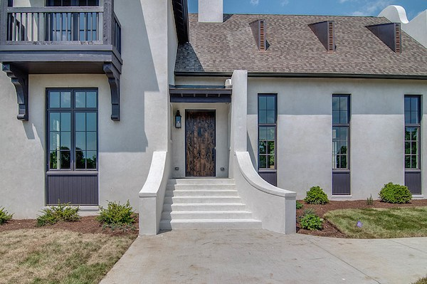 Spanish Influenced Transitional Style Home, Carbine & Assoc.