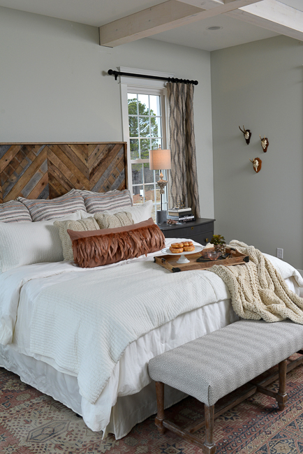 House-for-Hope Master Bedroom, ReFresh Home, Photo by Peyton Hoge
