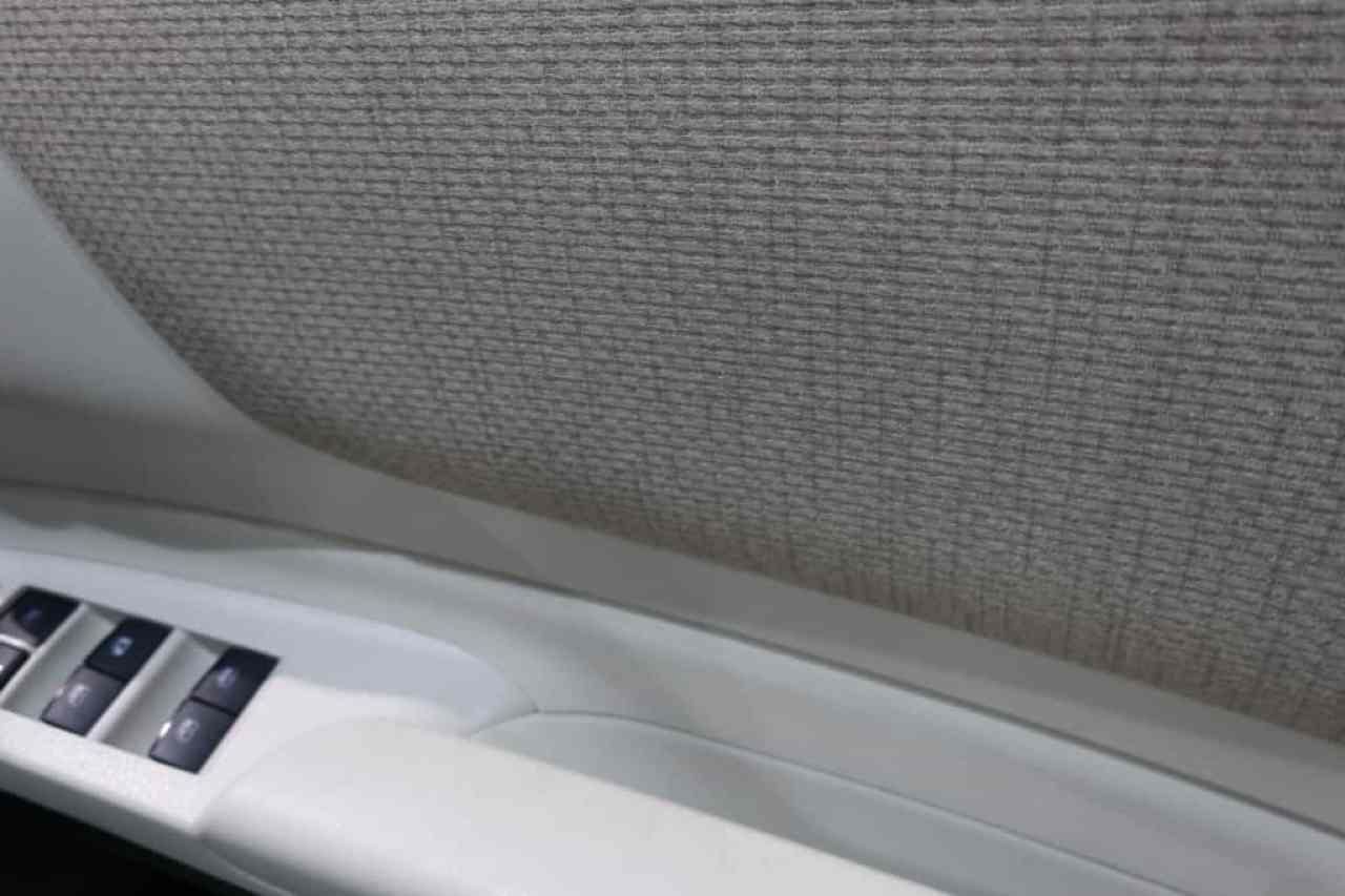 シエンタの運転席ドアトリムのアップ