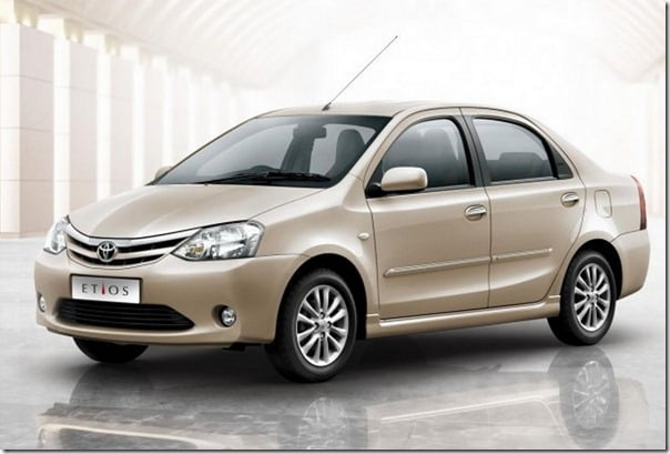 Toyota Etios Sedan In India