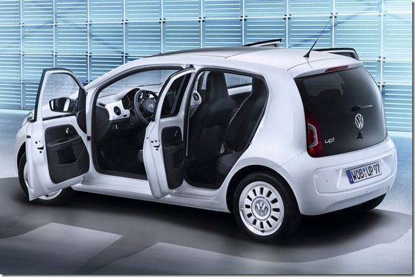 Volkswagen UP 4 Door Small Car
