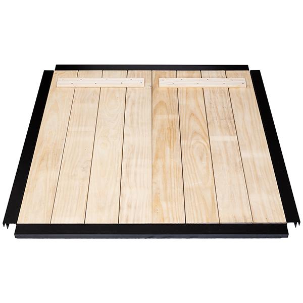 CarbonCycle Composter premium lid frame & slats
