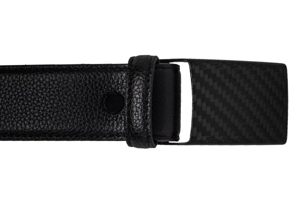 carbon design exclusive leather belt