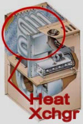 Heat Exchanger Cutaway View